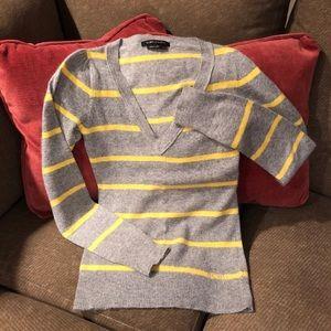 BCBGMaxAzria Angora/Wool Striped Sweater